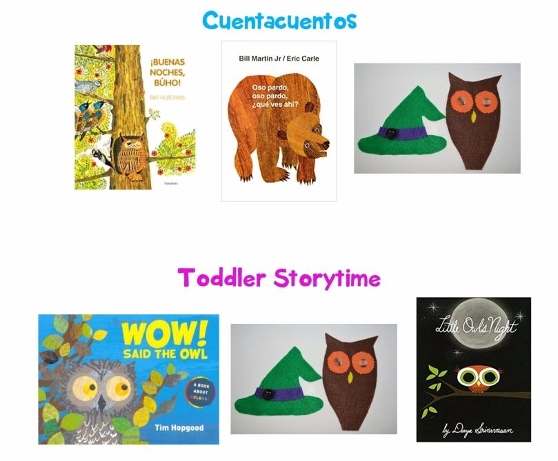 owl storytime